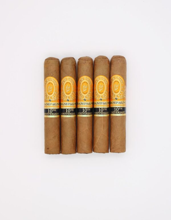 Champagne 10th Aniv Robusto Pack of 5